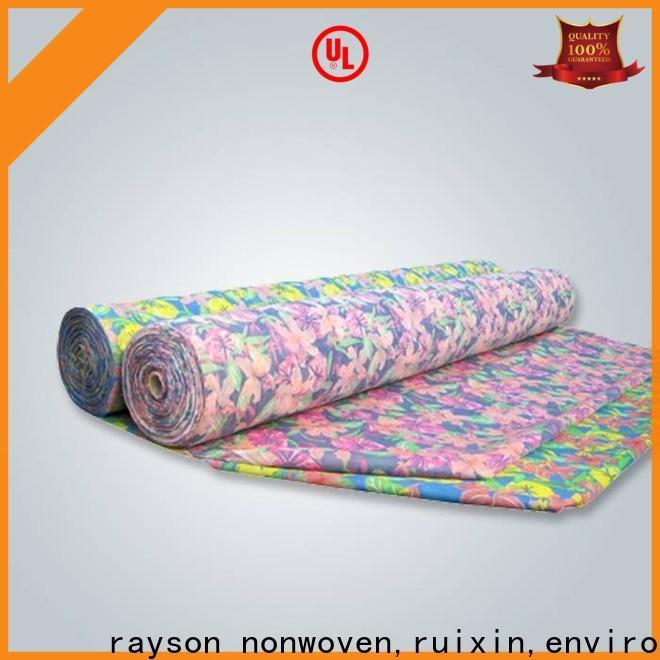 Rayonson Vlies, Ruixin, Enviro beliebte Spunlace Vliesstoff Lieferanten personalisiert für Bezüge
