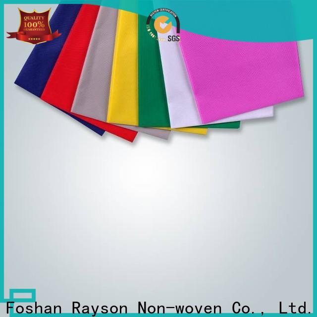 rayson محبوكة ، ruixin ، enviro قطع تصميم نسيج مفرش المائدة للماء للملابس