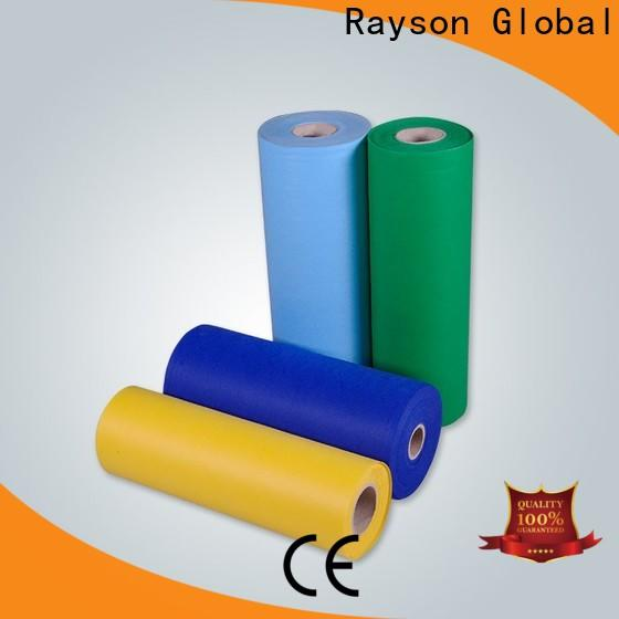 rayson nonwoven، ruixin، enviro نسيج قطن خفيف الوزن متعدد الألوان مع سعر جيد للمنزل