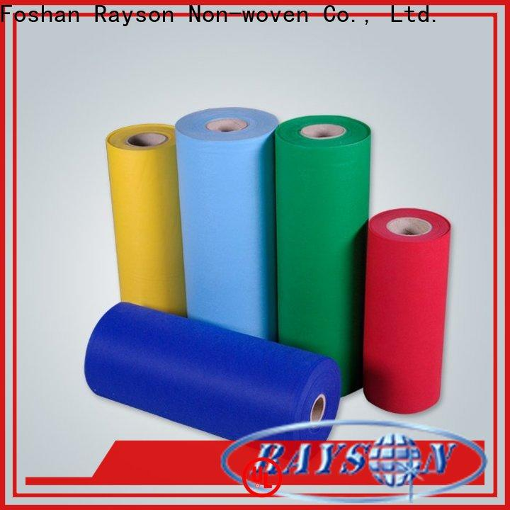 rayson nonwoven,ruixin,enviro excellent textured cotton fabric manufacturer for bags