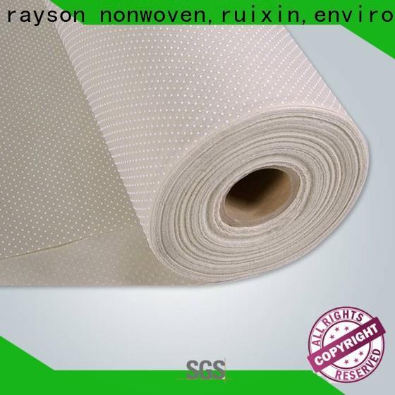 rayson non tessuto, ruixin, fornitore di fibra di carbonio non tessuta antiscivolo enviro per pantofola