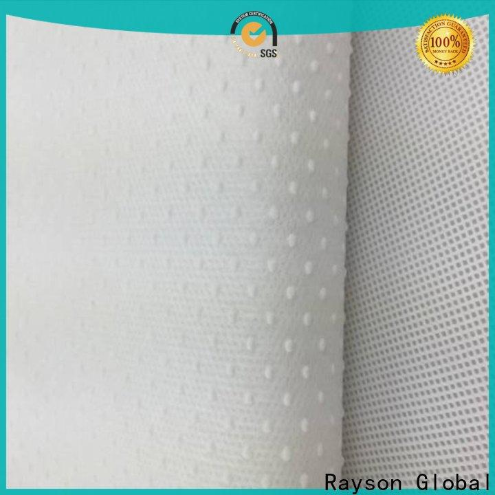 rayson nonwoven,ruixin,enviro anti-slip non woven polypropylene fabric wholesale from China for hotel