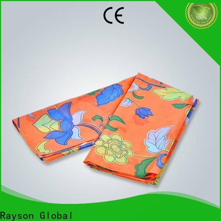 rayson nonwoven,ruixin,enviro colorful non woven fusible interlining personalized for tablecloth