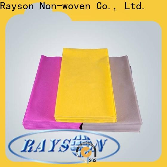 rayson nonwoven، ruixin، enviro قطع أقمشة شيفون استفسر الآن عن مفرش المائدة