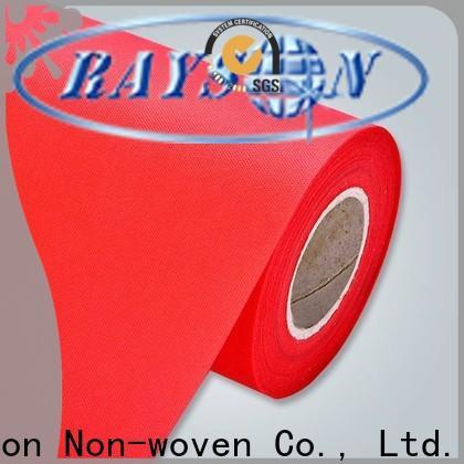 polypropylène de tissu non tissé perforé par aiguille imperméable directement à la vente pour le ménage