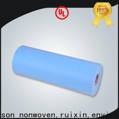 Rayonson Nonwoven, Ruixin, Fabricant de rouleaux non tissés en feuille enviro de Chine pour la maison
