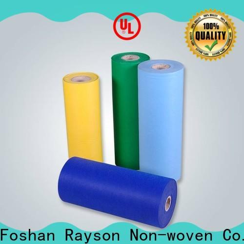Rayson nonwoven, ruixin, enviro eco-friendly spunlace lingettes non tissées conception pour hôtel