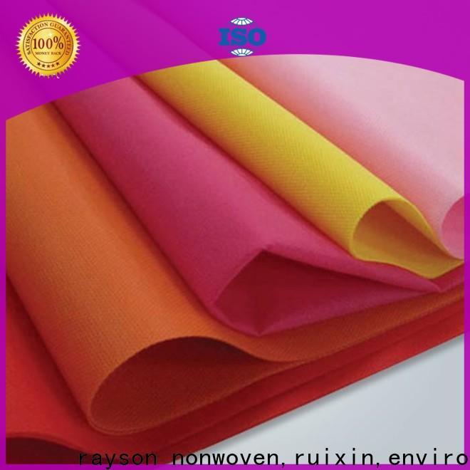 Nappe en PVC gris non-tissé, ruixin, enviro, écologique avec un bon prix pour le drap de lit