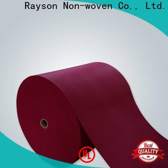 Rayonson Nonwoven, Ruixin, fabricant de nappes à colorier jetables enviro pour drap de lit