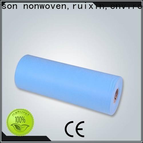 Rayon Nonwoven, Ruixin, Enviro Air Spunlace Nonwoven Fournisseur pour la maison