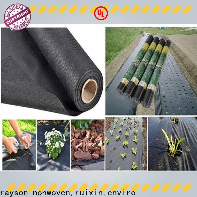 rayson nonwoven, ruixin, enviro weight preen tessuto in vendita direttamente per la serra