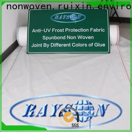 Rayonson non-tissé, ruixin, tissu de paysage de traitement enviro sous fournisseur de pierre pour l'habillement