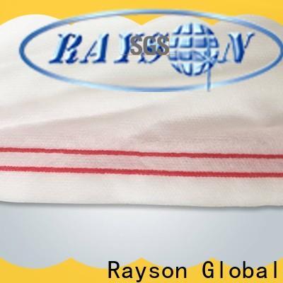 Rayonson non-tissé, ruixin, tissu de paysage spunbond approuvé par enviro personnalisé pour les vêtements