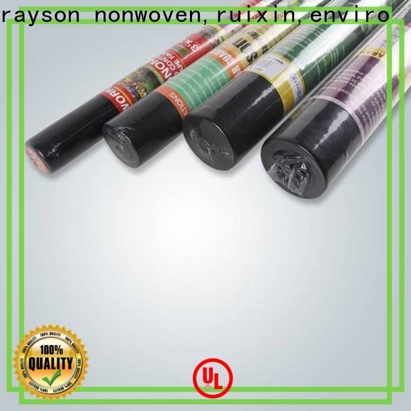 rayson nonwoven,ruixin,enviro weed control spun bonded polyester landscape fabric wholesale for farm