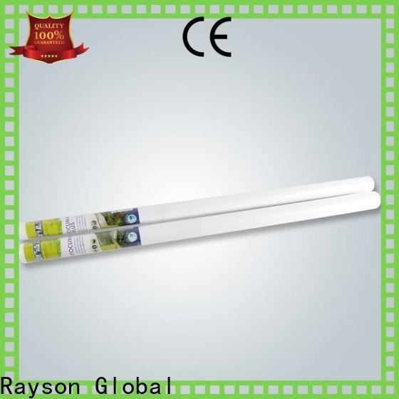 rayson nonwoven، ruixin، enviro غير منسوج فعال سعر نسيج جيوتكستايل مخصص للاحتباس الحراري