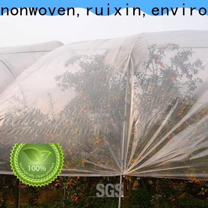 Rayonson Nonwoven, Ruixin, Enviro Extra White Fabricant de tissu de contrôle des mauvaises herbes pour l'extérieur