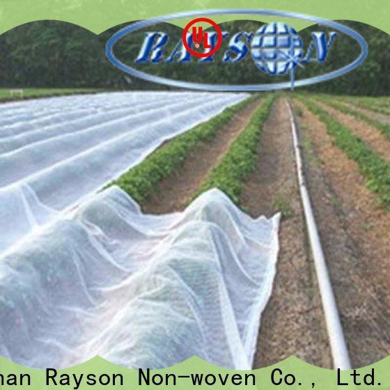 Rayonson non-tissé, ruixin, couvre-sol en tissu paysage sans enviro de Chine pour serre