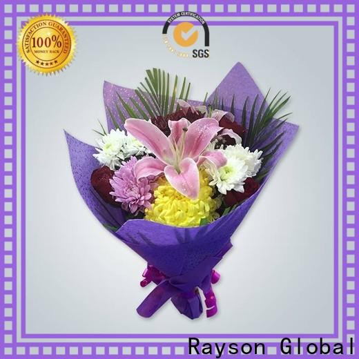 rayson nonwoven، ruixin، enviro الوزن غير المنسوجة البولي بروبلين سعر المصنع ل مفرش المائدة