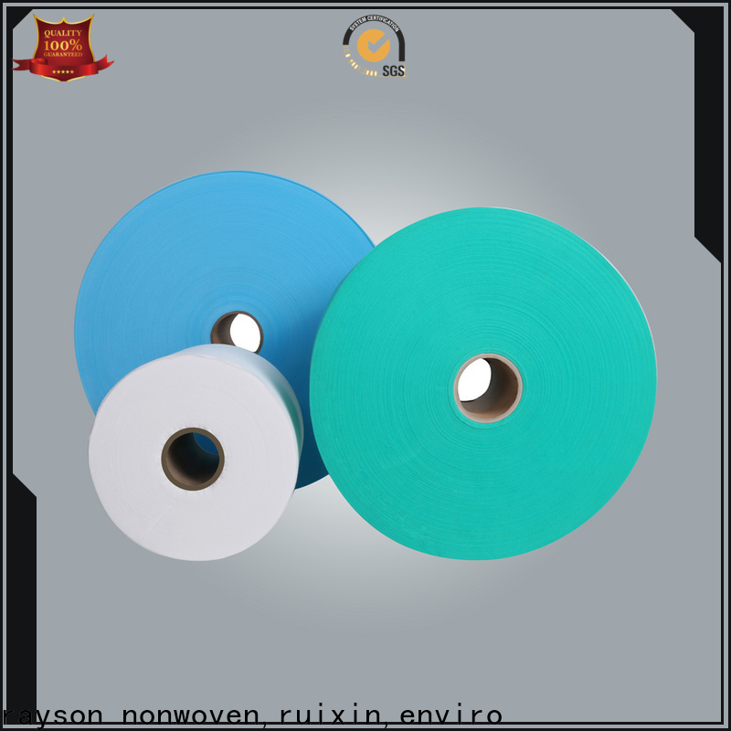 custom non woven synthetic fabric manufacturer for children's surgical face mask