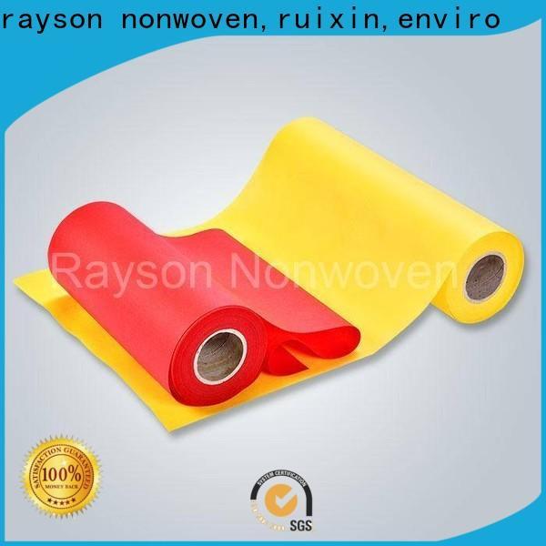 Rayonson non-tissé, ruixin, enviro nappe en pvc médical argos personnalisé pour emballage