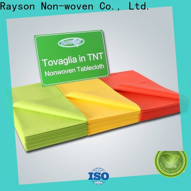 Rayons Vlies, Ruixin, enviro verpackt benutzerdefinierte Tischdecken personalisiert für Tischdecke