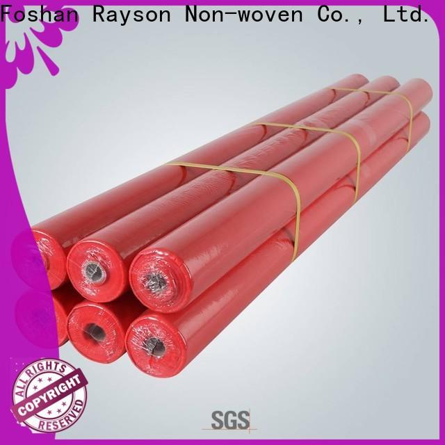 rayson nonwoven, ruixin, enviro tela tela serie cubierta de mesa para mantel