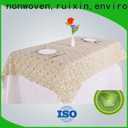 Rayons Vlies, Ruixin, Enviro saubere Tischdecke Online-Direktverkauf für Outdoor