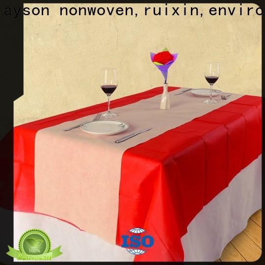 Rayons Vlies, Ruixin, Enviro verschiedene Muster Stoff Tischdecken Fabrik für den Außenbereich