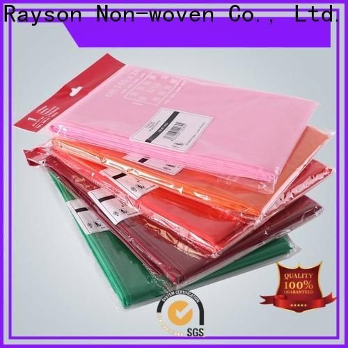 Rayonson Vlies, Ruixin, Enviro antibakterielle rote Tischdecke Fabrik für Tischdecke