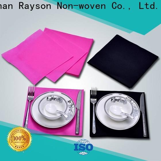 Rayonson Vlies, Ruixin, Enviro Spinnvlies PVC Tischdecke Fabrik für die Verpackung
