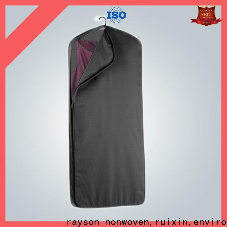 rayson nonwoven,ruixin,enviro recycling non woven fabric used in agriculture factory price for zipper