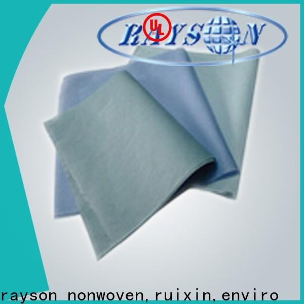 बेड शीट के लिए रेसेन नॉनवॉवन, रूबिक्सिन, एनवायरो गंध सफेद जियोटेक्स्टाइल कपड़े व्यक्तिगत