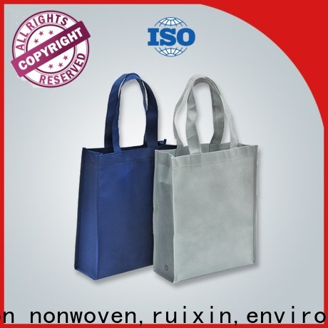 promotional pp non woven material handle supplier for zipper