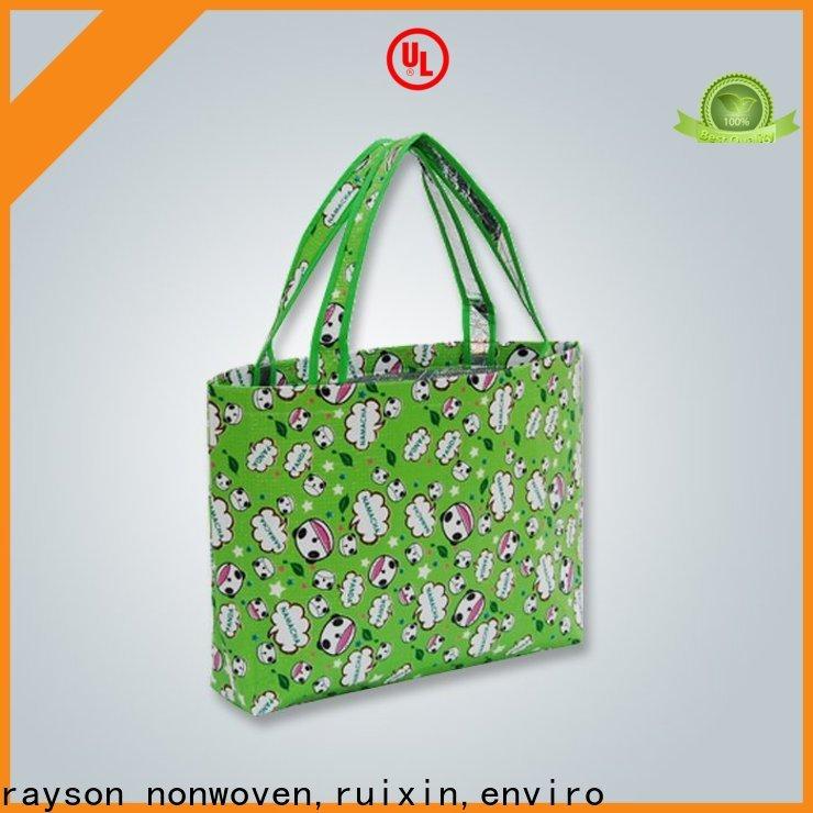 promotional non woven manufacturer slip customized for zipper