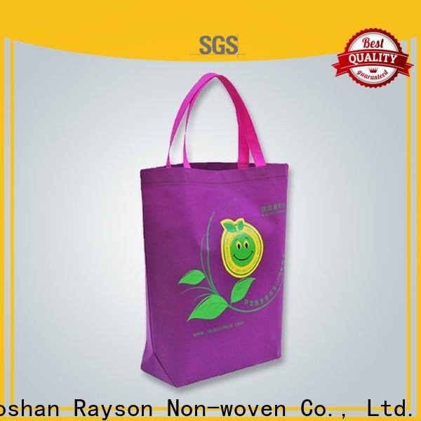 rayson nonwoven,ruixin,enviro fda non woven fabric bag manufacturer supplier for spa