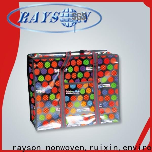 rayson nonwoven,ruixin,enviro promotional buy non woven polypropylene fabric factory price for zipper