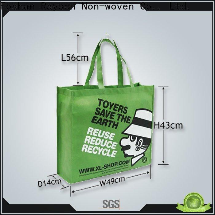 rayson nonwoven,ruixin,enviro covergarment non woven fabric bag manufacturer supplier for household