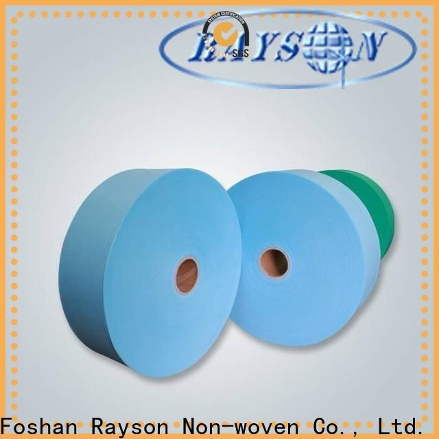 Rayonson Vlies, Ruixin, Enviro Industries Rohmaterial aus Vliesstoff Fabrikpreis für Erwachsene