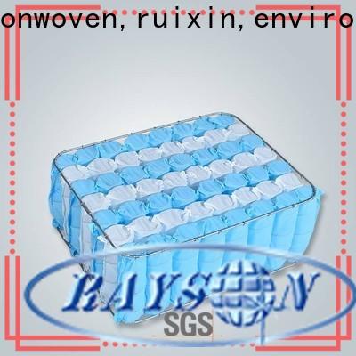 rayson nonwoven، ruixin، enviro مورد أقمشة غير منسوجة مقاومة للماء للأثاث