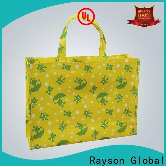 rayson nonwoven, ruixin, पर्यावरण जिपर गैर बुना बैग बैग के लिए डिजाइन