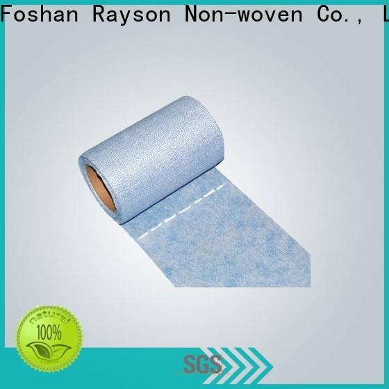 rayson nonwoven, ruixin, enviro base tela no tejida proveedores de materias primas diseño para colchón