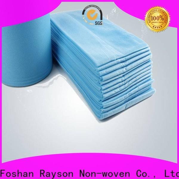 Rayson nonwoven, ruixin, enviro kaliteli nonwoven çarşaf serisi iç mekan için