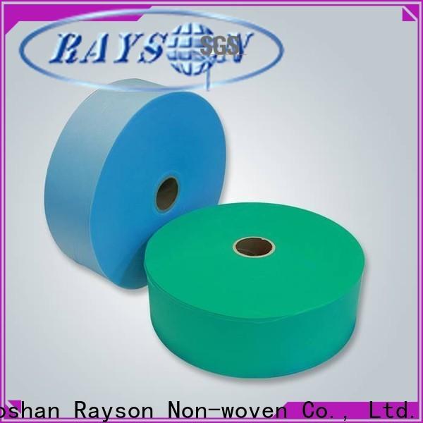 rayson não tecido, ruixin, enviro impermeável não tecido série de têxteis técnicos para lençol