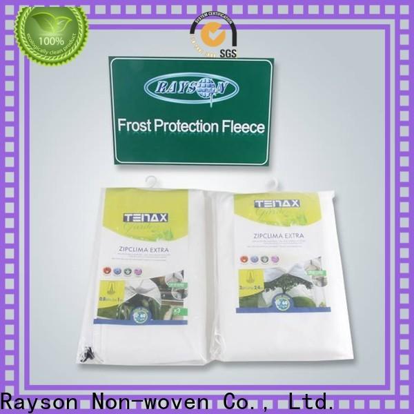 rayson nonwoven, ruixin, enviro ब्रांड हरी खरपतवार नियंत्रण कपड़े निर्माता आउटडोर के लिए