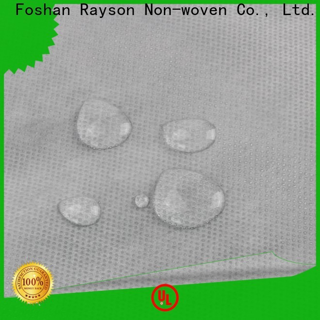 rayson nonwoven,ruixin,enviro waterproof laminated non woven fabric manufacturer with good price for home