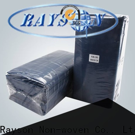 rayson nonwoven,ruixin,enviro disposable laminated non woven fabric manufacturer with good price for hospital