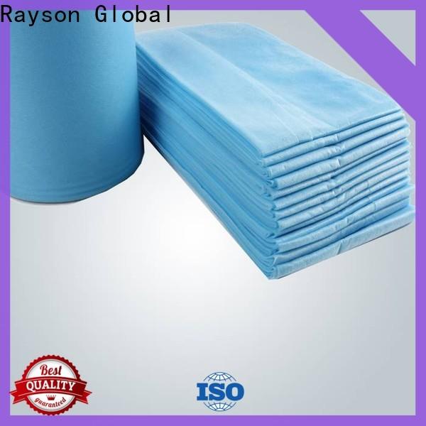 rayson nonwoven، ruixin، إنفيرو ميديكال غير منسوج interlining مصنع لملاءات السرير