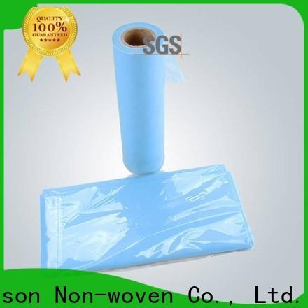 rayson nonwoven, ruixin, enviro hoja de tela no tejida desechable venta directa para sábana