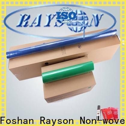 rayson nonwoven, ruixin, enviro white no tejida máquina para fabricar bolsas al por mayor para el hogar