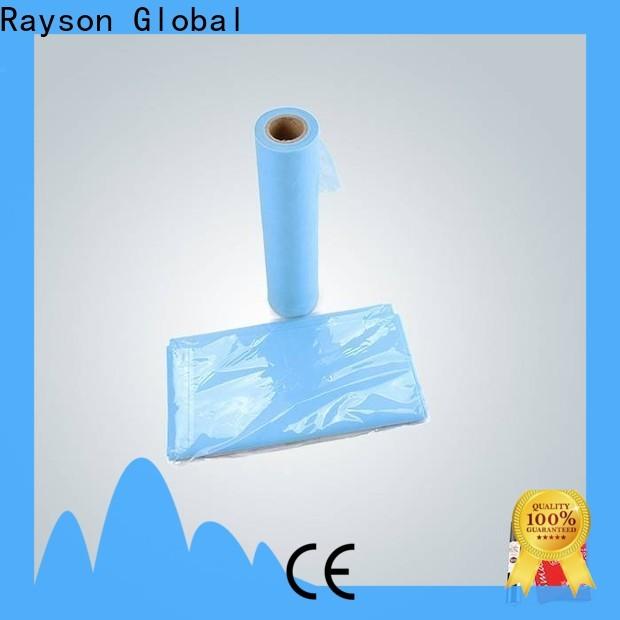 rayson nonwoven, ruixin, enviro desechable pp spunbond nonwoven fabric venta directa para el hogar